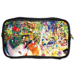 Multicolor Anime Colors Colorful Toiletries Bags 2 Side