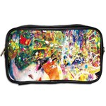 Multicolor Anime Colors Colorful Toiletries Bags 2-Side Back