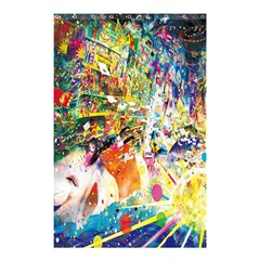 Multicolor Anime Colors Colorful Shower Curtain 48  X 72  (small)