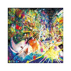 Multicolor Anime Colors Colorful Acrylic Tangram Puzzle (6  X 6 )