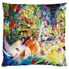 Multicolor Anime Colors Colorful Large Cushion Case (one Side)