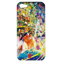 Multicolor Anime Colors Colorful Apple Iphone 5 Hardshell Case