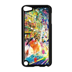 Multicolor Anime Colors Colorful Apple Ipod Touch 5 Case (black)