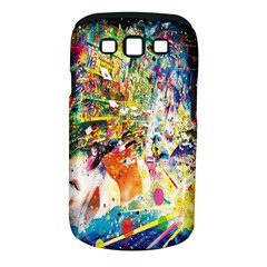 Multicolor Anime Colors Colorful Samsung Galaxy S Iii Classic Hardshell Case (pc+silicone)