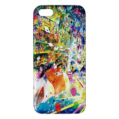Multicolor Anime Colors Colorful Iphone 5s/ Se Premium Hardshell Case