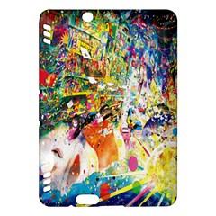 Multicolor Anime Colors Colorful Kindle Fire Hdx Hardshell Case