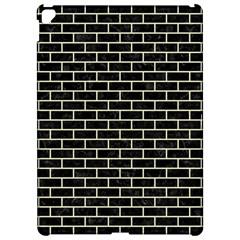Brick1 Black Marble & Beige Linen Apple Ipad Pro 12 9   Hardshell Case