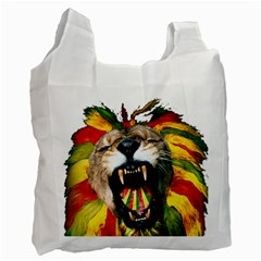 Reggae Lion Recycle Bag (one Side)