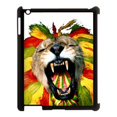 Reggae Lion Apple Ipad 3/4 Case (black)