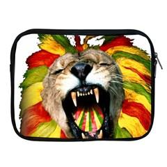 Reggae Lion Apple Ipad 2/3/4 Zipper Cases