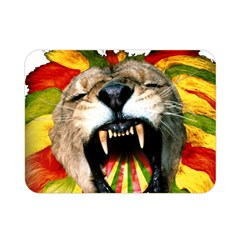 Reggae Lion Double Sided Flano Blanket (mini)