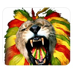 Reggae Lion Double Sided Flano Blanket (small)