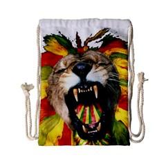 Reggae Lion Drawstring Bag (small)