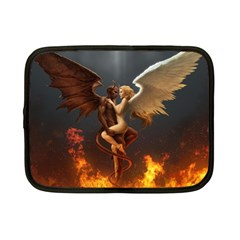 Angels Wings Curious Hell Heaven Netbook Case (small)