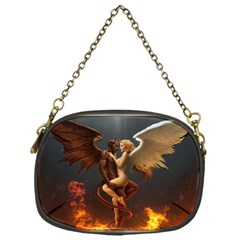 Angels Wings Curious Hell Heaven Chain Purses (one Side)