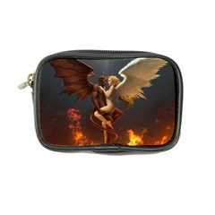 Angels Wings Curious Hell Heaven Coin Purse