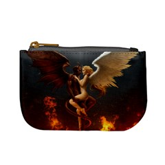 Angels Wings Curious Hell Heaven Mini Coin Purses