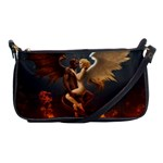 Angels Wings Curious Hell Heaven Shoulder Clutch Bags Front