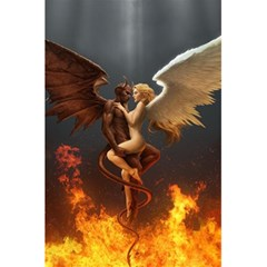 Angels Wings Curious Hell Heaven 5 5  X 8 5  Notebooks