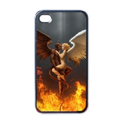 Angels Wings Curious Hell Heaven Apple Iphone 4 Case (black)