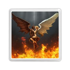 Angels Wings Curious Hell Heaven Memory Card Reader (square)