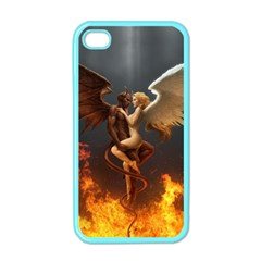 Angels Wings Curious Hell Heaven Apple Iphone 4 Case (color)