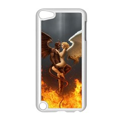Angels Wings Curious Hell Heaven Apple Ipod Touch 5 Case (white)