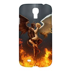 Angels Wings Curious Hell Heaven Samsung Galaxy S4 I9500/i9505 Hardshell Case