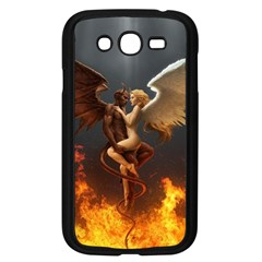 Angels Wings Curious Hell Heaven Samsung Galaxy Grand Duos I9082 Case (black)