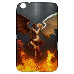 Angels Wings Curious Hell Heaven Samsung Galaxy Tab 3 (8 ) T3100 Hardshell Case