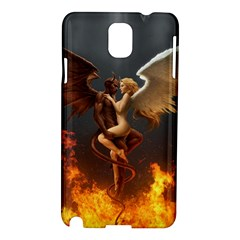 Angels Wings Curious Hell Heaven Samsung Galaxy Note 3 N9005 Hardshell Case