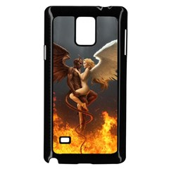 Angels Wings Curious Hell Heaven Samsung Galaxy Note 4 Case (black)