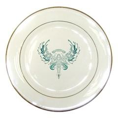 Angel Tribal Art Porcelain Plates