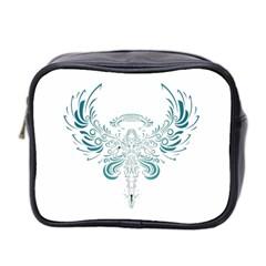Angel Tribal Art Mini Toiletries Bag 2 Side