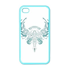 Angel Tribal Art Apple Iphone 4 Case (color)