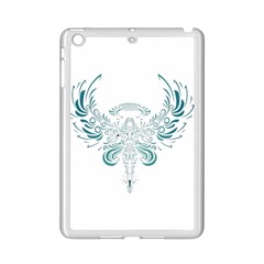 Angel Tribal Art Ipad Mini 2 Enamel Coated Cases