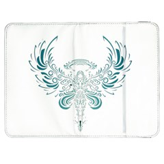 Angel Tribal Art Samsung Galaxy Tab 7  P1000 Flip Case