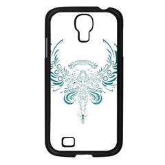 Angel Tribal Art Samsung Galaxy S4 I9500/ I9505 Case (black)