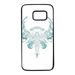 Angel Tribal Art Samsung Galaxy S7 Black Seamless Case