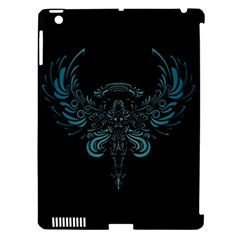 Angel Tribal Art Apple Ipad 3/4 Hardshell Case (compatible With Smart Cover)