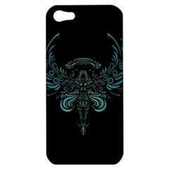 Angel Tribal Art Apple Iphone 5 Hardshell Case