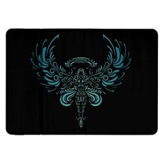 Angel Tribal Art Samsung Galaxy Tab 8 9  P7300 Flip Case