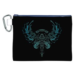 Angel Tribal Art Canvas Cosmetic Bag (xxl)