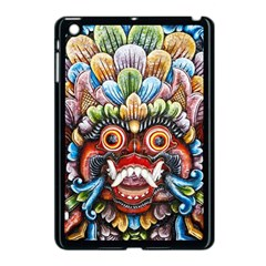 Wood Sculpture Bali Logo Apple Ipad Mini Case (black)