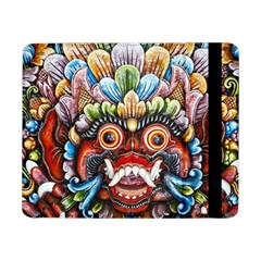 Wood Sculpture Bali Logo Samsung Galaxy Tab Pro 8 4  Flip Case