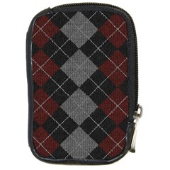 Wool Texture With Great Pattern Compact Camera Cases