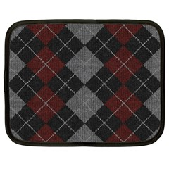 Wool Texture With Great Pattern Netbook Case (xl)