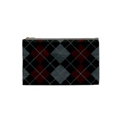 Wool Texture With Great Pattern Cosmetic Bag (small)