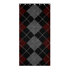 Wool Texture With Great Pattern Shower Curtain 36  X 72  (stall)