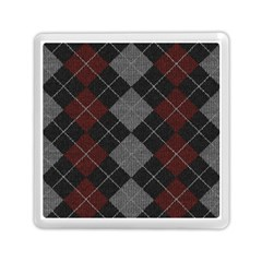 Wool Texture With Great Pattern Memory Card Reader (square)